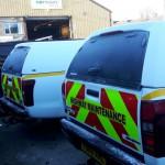 Fleet Vehicle Wrapping Wigan