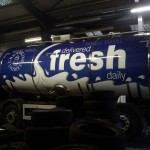 printed livery on tanker