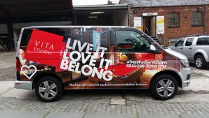 vehicle wrapping oldham