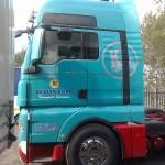 kelvin lord vinyl graphics truck