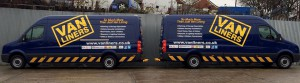 van liners van fleet vinyl graphics