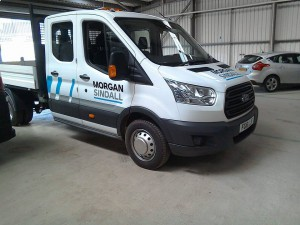 vinyl graphics Morgan Sindall