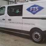 FTS Electrical vehicle livery