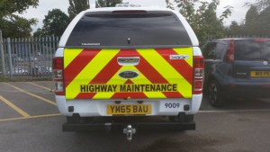 Rear Chevrons and Highway Maintenance
