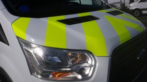 Chevrons to Ford Transit