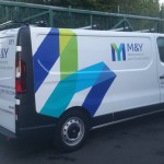 M and Y Fleet Vehicle Livery
